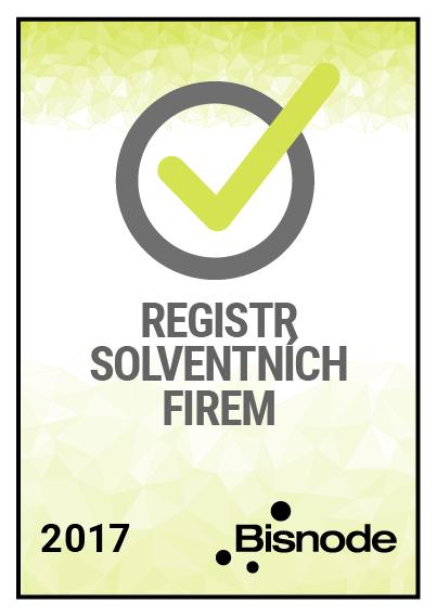 Jsme v registru solventních firem